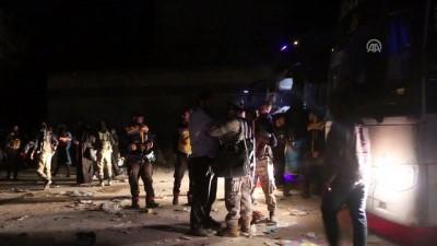 Suriye'nin Humus ilinden tahliyelerde sayı 30 bini aştı - İDLİB