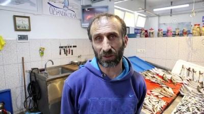 Tezgahların en pahalı balığı 'mezgit' oldu - TRABZON