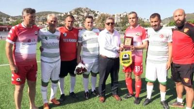 Bodrum ve KKTC master takımları dostluk maçı yaptı - MUĞLA