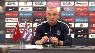 Çalımbay: 'Bazı maçları şanssız şekilde kazanamadık '- TRABZON