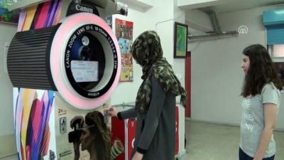 Girişimci gençten 'özçekim otomatı' - ANKARA