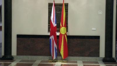 İngiltere Başbakanı May Makedonya'da - ÜSKÜP