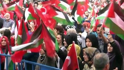 'İsrail'e lanet Filistin'e destek' mitingi - SAKARYA