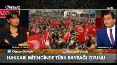ferda yildirim - Osman Gökçek: Hakkari'de İnce'yi destekleyenler HDP'lilerdi