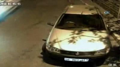 aku hirsizi -  Ümraniye'de özel halk otobüsünün aküsünü çalan hırsızlar kamerada