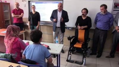 Akülü tekerlekli sandalye hayali gerçek oldu - ZONGULDAK