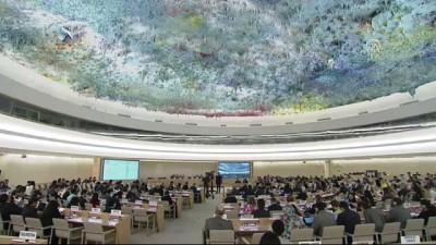 BM İnsan Hakları Konseyi'nde Filistin özel oturumu - CENEVRE