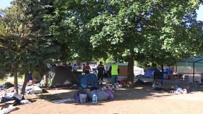 Bosna Hersek'te sığınmacı gerginliği - SARAYBOSNA