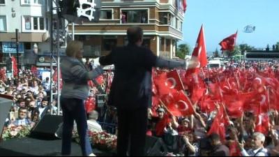 CHP Cumhurbaşkanı adayı ve Yalova milletvekili Muharrem İnce Tekirdağ'da