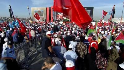 """Cumhurbaşkanı Erdoğan: """"Bu mücadelede öncülük etmekten şeref duyarım"""""""