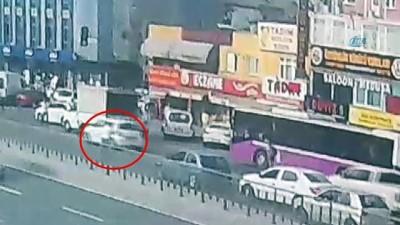 Hafriyat kamyonu dehşeti kamerada...Hafriyat kamyonunun ezdiği babaanne ile torunu feci şekilde can verdi