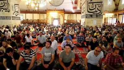 Kılıçla hutbe geleneği Edirne'de sürüyor - EDİRNE