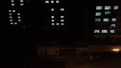 KYK'nın ışıkları Kudüs için yandı