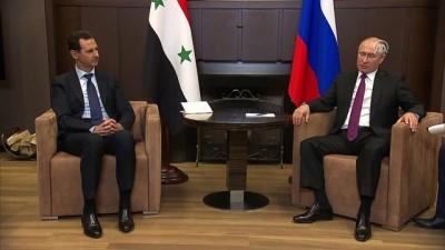 Putin ile Esed Soçi'de bir araya geldi - SOÇİ