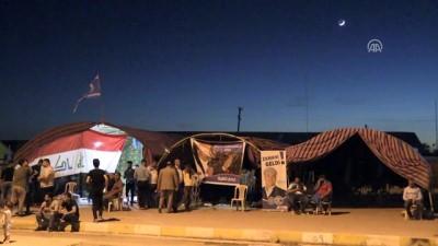 Seçim sonuçlarını protesto eden Türkmenler açlık grevine başladı - KERKÜK