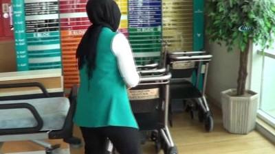 Şehir Hastanesi'nde 67 tekerlekli sandalye kayboldu