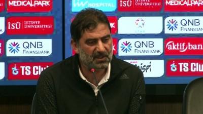devre arasi - Trabzonspor-Kardemir Karabükspor maçının ardından - Teknik Direktör Karaman - TRABZON