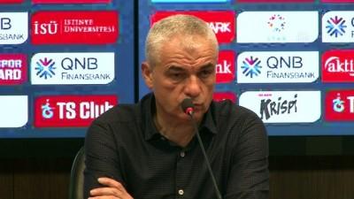 devre arasi - Trabzonspor-Kardemir Karabükspor maçının ardından - Teknik Direktörü Çalımbay - TRABZON