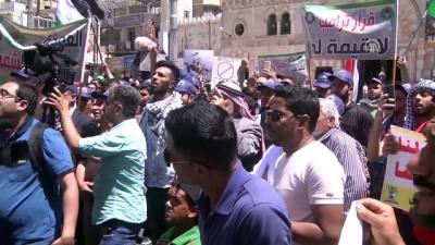 Ürdün'de Filistin'e destek gösterisi - AMMAN