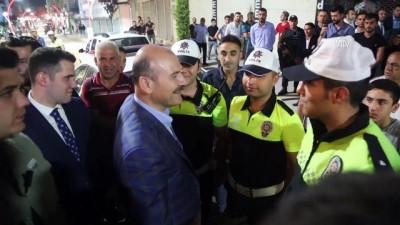 Bakan Soylu, güvenlik güçleriyle sahurda buluştu - ŞIRNAK