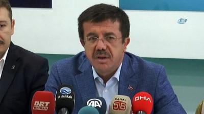 """Ekonomi Bakanı Nihat Zeybekci: """"ABD'nin bu konudaki tutumuna Türkiye olarak sessiz kalamazdık"""""""