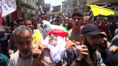 Gazze şehidi toprağa verildi - GAZZE