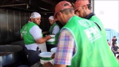 İHH'dan Suriye'de her gün 50 bin kişiye iftar - İDLİB