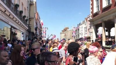 İngiltere'de kraliyet düğünü: Harry ile Meghan evlendi - LONDRA