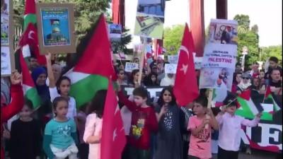 İsrail'in Gazze'deki katliamı Cenevre'de protesto edildi - CENEVRE