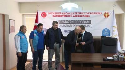 TDV'den Makedonyalı ihtiyaç sahiplerine ramazan yardımı - ÜSKÜP