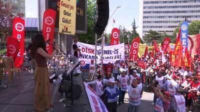 Başkentte 1 Mayıs Emek ve Dayanışma Günü kutlaması - ANKARA