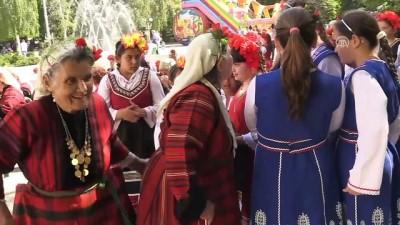 hukumet karsiti - Bulgaristan'da 1 Mayıs kutlamaları - FİLİBE