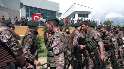 Dualarla Afrin'e uğurlanan PÖH'ler birliklerine döndü - BİNGÖL