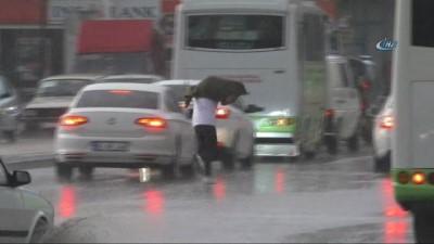Tokat'ta vatandaşı sevindiren yağış