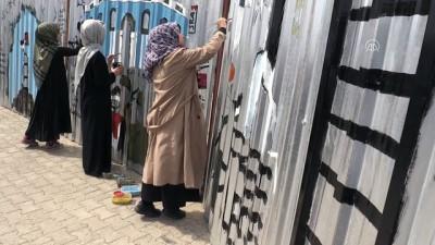 Üniversite öğrencilerinden 'Ayrım Duvarı' minyatürü - DÜZCE