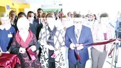 Bosna Hersek'te Emine Erdoğan TİKA'nın yaptırdığı Hematoloji Bölümü'nü açtı - SARAYBOSNA