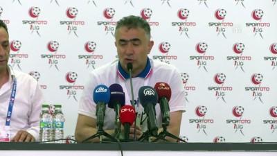 Büyükşehir Belediyesi Erzurumspor-Gazişehir Gaziantep maçının ardından - Mehmet Altıparmak (1) - BURSA