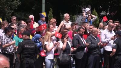 Cumhurbaşkanı Erdoğan, Bosna Hersek'e geldi (2) - SARAYBOSNA