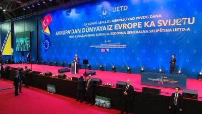 """- Cumhurbaşkanı Erdoğan: """" Ülkemize silah doğrultan son teröristi de imha edene kadar bize durmak yok"""""""