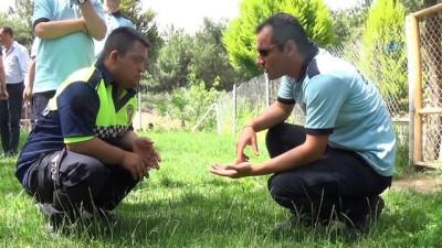 Engelli çocuklar, polis ağabeyleri ile unutulmaz bir gün yaşadı