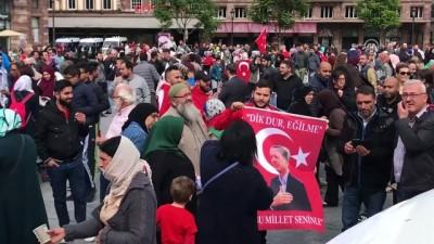 Fransa'da Filistin'e destek gösterileri düzenlendi - STRAZBURG