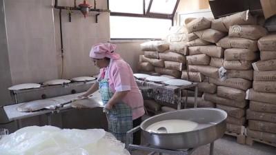 Güllaç üreticilerinin ramazan mesaisi - BURSA