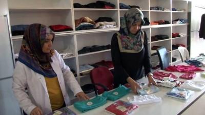 Market gibi 'Hayır Çarşısı' Ramazan'da da ihtiyaç sahiplerinin yüzlerini güldürüyor
