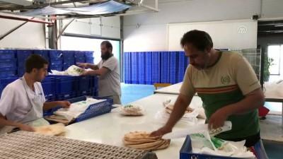 Suriyelilere günde 750 bin ekmek - HATAY