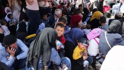 Cilvegözü Sınır Kapısı'nda ramazan geçişleri - HATAY