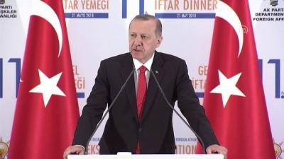 Cumhurbaşkanı Erdoğan: 'Son dönemde diplomasinin ciddi anlamda erozyona uğradığını, uğratıldığını görüyoruz' - ANKARA