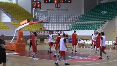 Dev adamlar Play-Off ilk maçının antrenmanını tamamladı