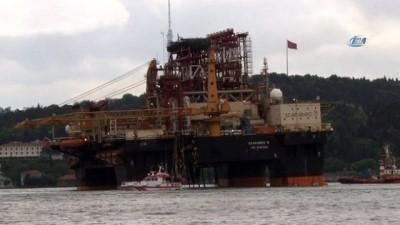 Dev petrol arama platformu İstanbul Boğazı'ndan geçiyor