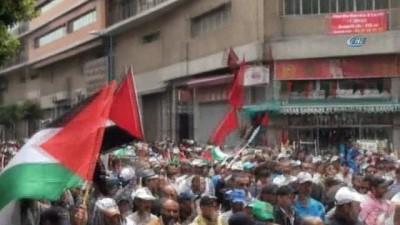 - Fas'tan Filistin'e destek gösterisi