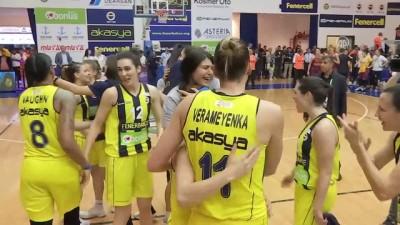Fenerbahçe, şampiyonluk kupasını aldı - İSTANBUL